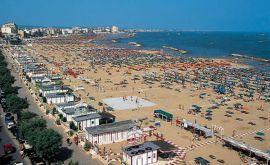 Spiaggia della Riviera Adriatica Romagnola