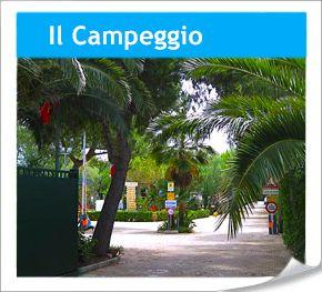 Campingplatz in Apulien