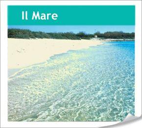 The sea in Puglia