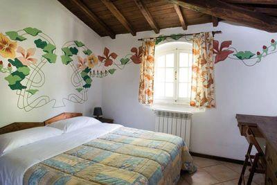 Villaggio con case mobili a Roma
