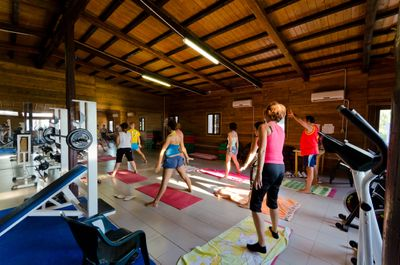 Sporting activities in the camping village