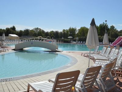 The pool at Camping Village