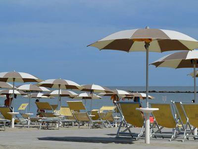 Beach on the Adriatic coast