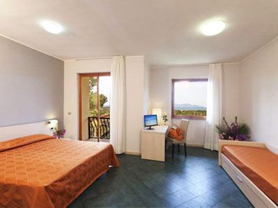 Triple room, Talamone