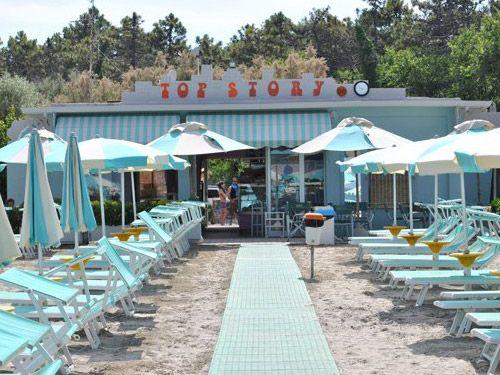 Spiaggia privata a Cesenatico