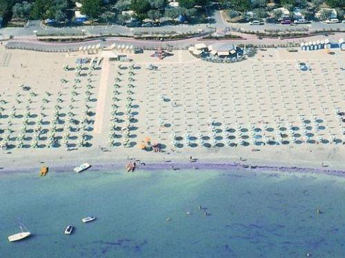 Spiaggia della Riviera Romagnola
