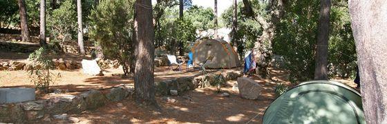 Camping a Porto Vecchio, Corsica
