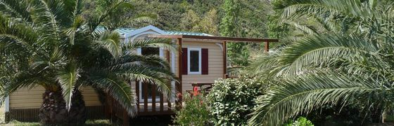 Camping Village on the sea in Patrimonio, Haute-Corse