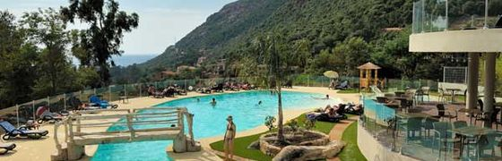 Camping Village with Pool in Porto, Corsica