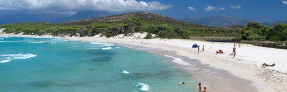 Campingplatz in Santo Pietro di Tenda, Korsika