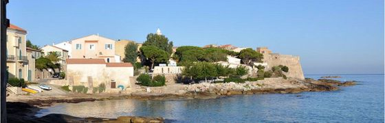 Camping près de Calvi, Corse