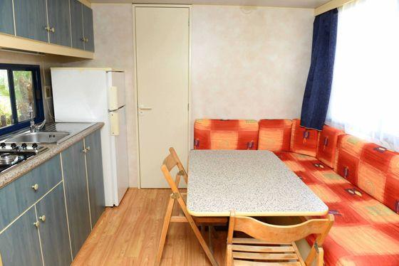 La cucina delle case mobili