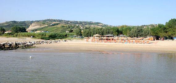 Ausgestatteter Strand
