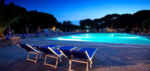 Camping mit Pool in der Toskana