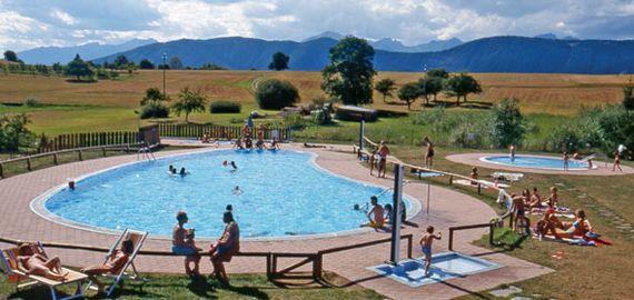 Camping mit Pool in Val di Non, Trentino