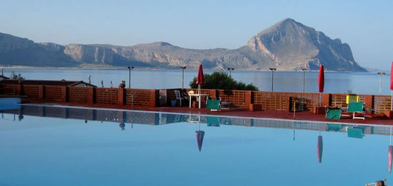 Camping Village mit Pool in Sizilien