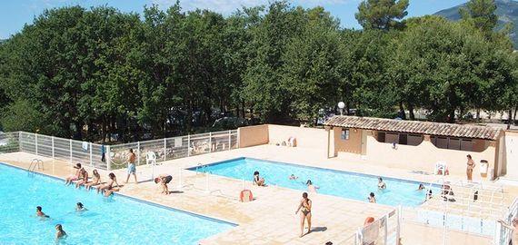 Campingplatz mit Pool in Vence, Frankreich