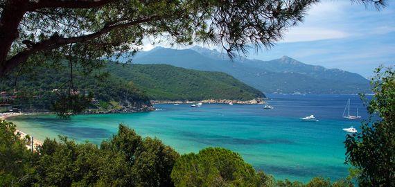 Camping Village auf der Insel Elba