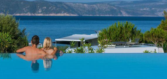 Camping mit Pool in Kroatien