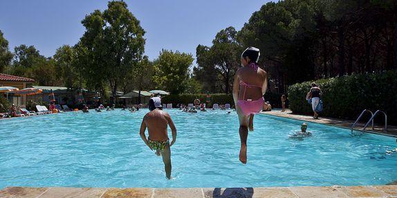 Schwimmbad für Kinder