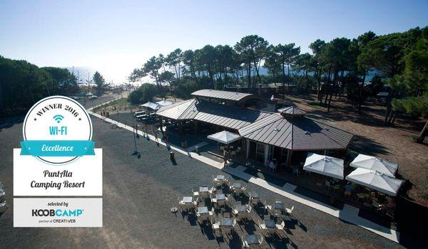 Premio Wi-Fi al PuntAla Camping Resort