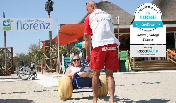 Holiday Village Florenz di Lido degli Scacchi a Comacchio (FE) vince titolo Accessible