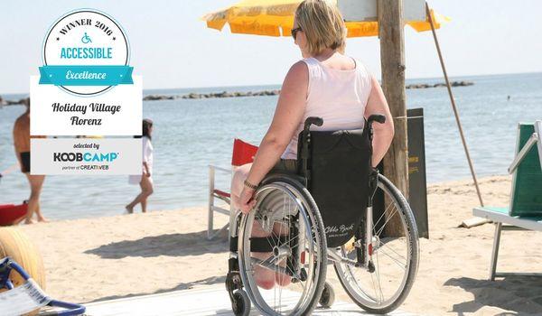 Accessibilità presso Holiday Village Florenz di Lido degli Scacchi a Comacchio (FE)