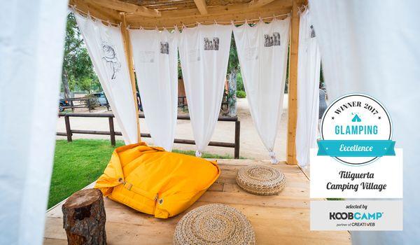 I 10 migliori Campeggi e Villaggi Glamping del 2017 vince il Tiliguerta Camping Village