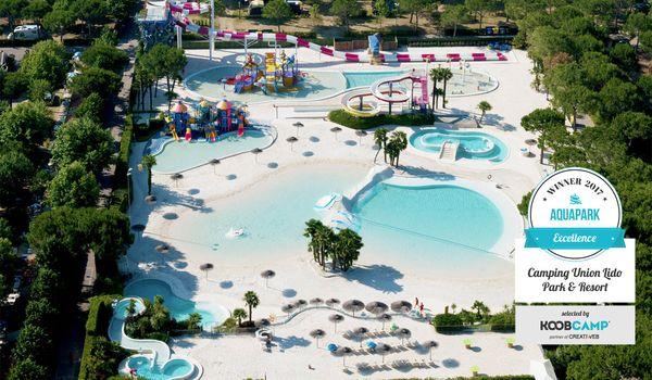 Camping Union Lido Park & Resort è il miglior camping con Aquapark