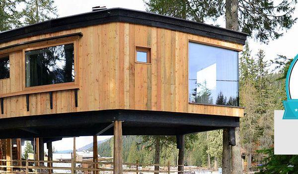 Camping Caravan Park Sexten di Sesto (BZ) con la casa sull'albero