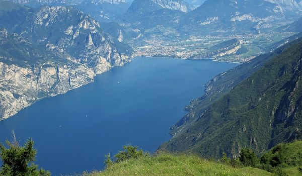 Scorcio del Lago di Garda