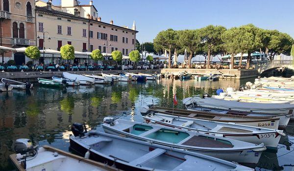 Porto di Desenzano sul Lago di Garda