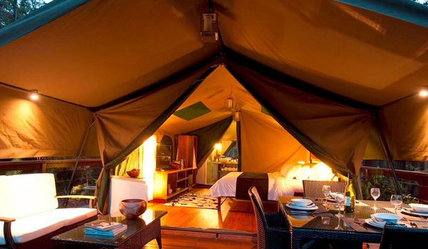 Glamping all'International Camping Village Etruria in Toscana