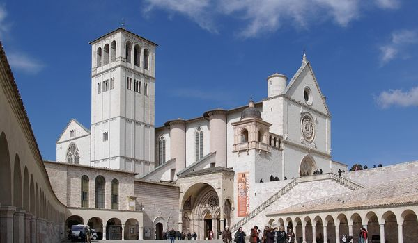 Basilica di San Francesco ad Assisi in Umbria