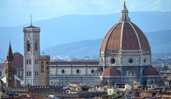 Veduta di Firenze in Toscana
