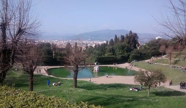 Giardino di Boboli a Firenze in Toscana