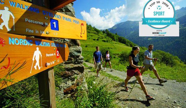 Certificato di Eccellenza KoobCamp al Dolomiti Camping Village