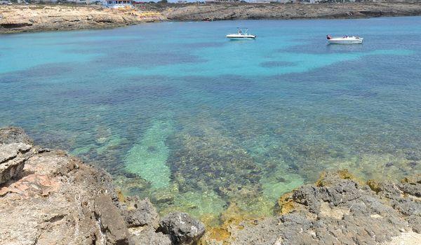 Mare di Lampedusa in Sicilia