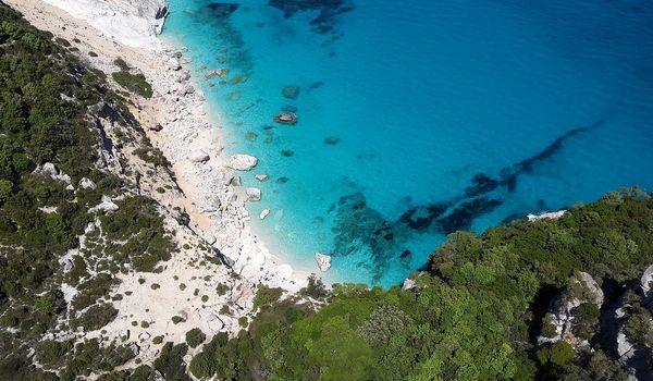 I colori del mare in Sardegna