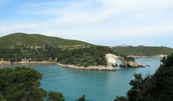 Scorcio del Gargano in Puglia
