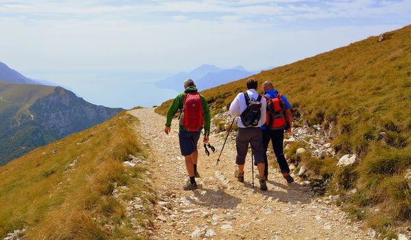 Trekking sul Lago di Garda