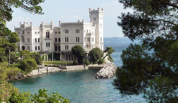 Castello di Miramare a Trieste