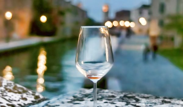 Bicchiere a Venezia
