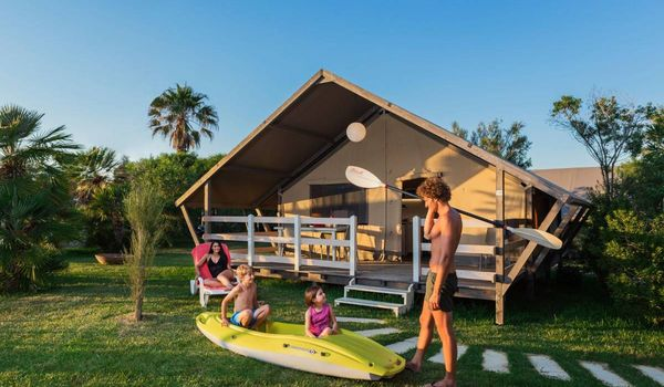 Glamping a Lecce