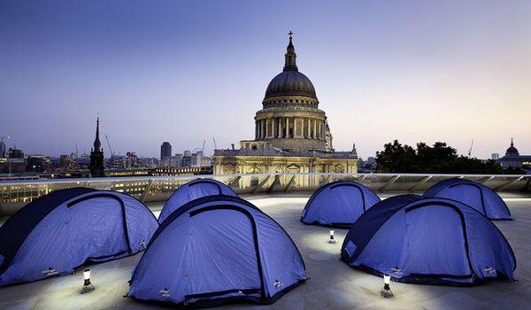 Urban camping
