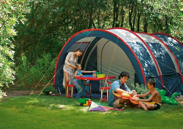 Campeggio in Campania