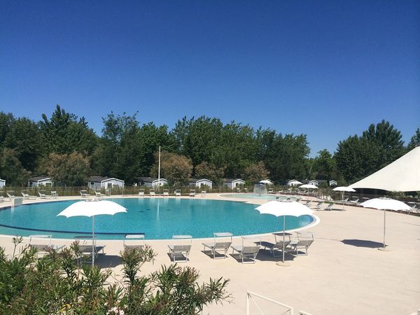 Camping Village with swimming pool in Emilia Romagna