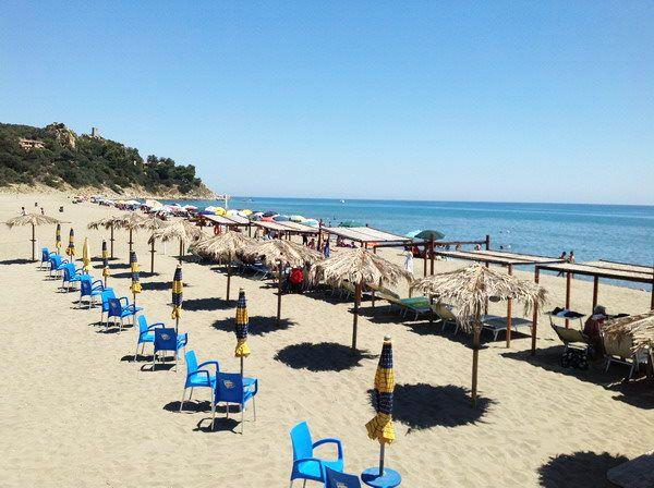 Vacaciones en el mar en Cerdeña