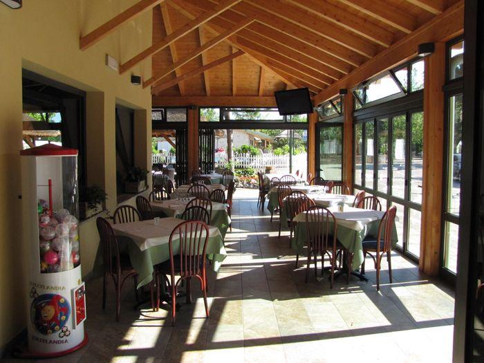 Il ristorante del campeggio