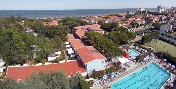 Villaggio con piscina, Lido di Pomposa